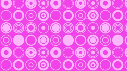 Purple Circle Pattern Background