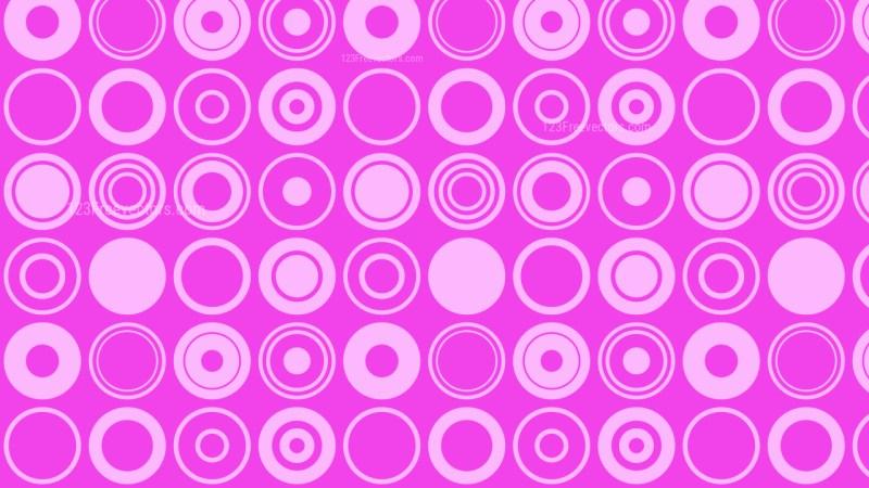 Purple Circle Pattern Background