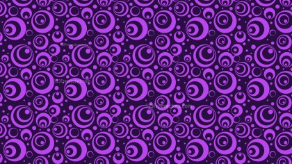 Purple Circle Pattern Background Vector Art
