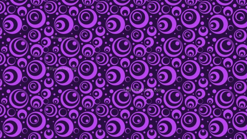 Purple Circle Pattern Background Vector Art