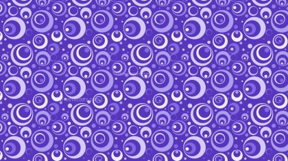 Violet Seamless Circle Pattern Vector Graphic