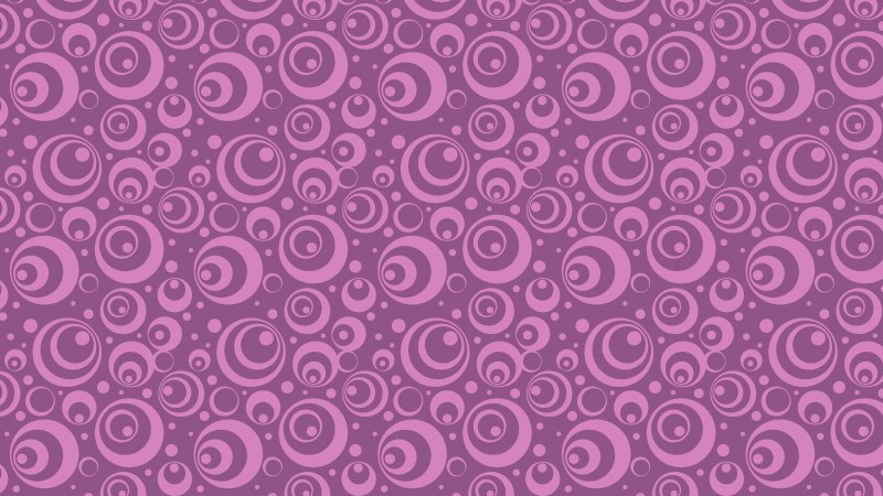 Purple Seamless Circle Pattern Background Vector Image