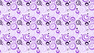 Purple Seamless Geometric Circle Pattern Background Vector