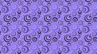 Purple Circle Pattern