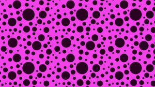Purple Random Scattered Dots Pattern