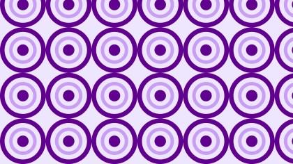 Purple Circle Background Pattern