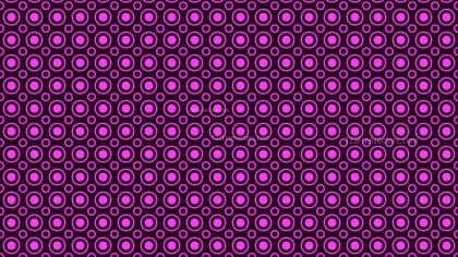 Purple Seamless Circle Pattern