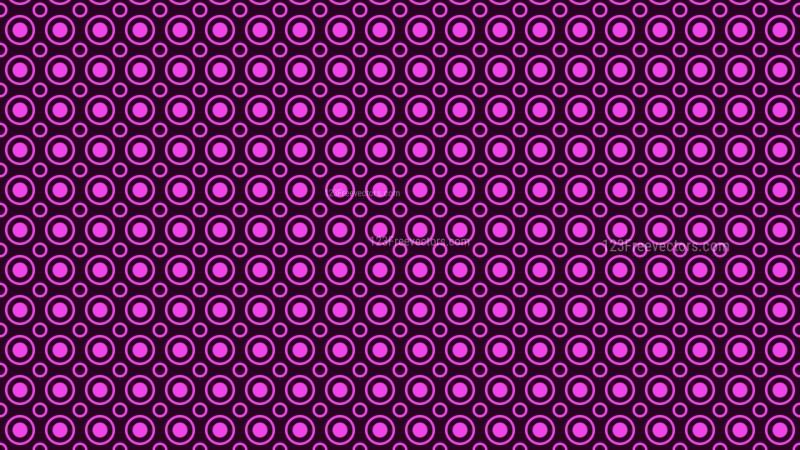 Purple Seamless Circle Pattern