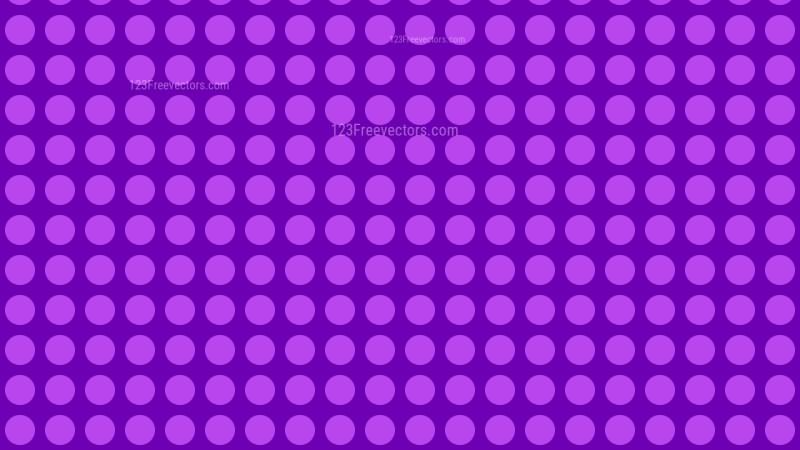 Purple Seamless Geometric Circle Pattern Background