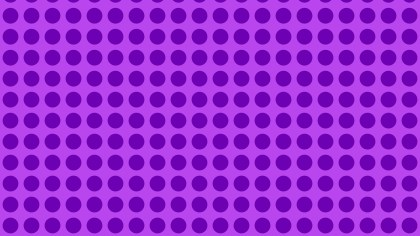 Purple Seamless Geometric Circle Background Pattern