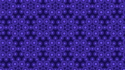 Indigo Circle Pattern Design