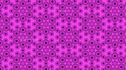 Purple Geometric Circle Pattern Vector Image