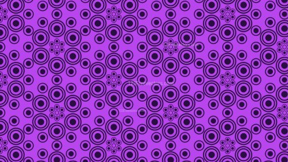 Purple Seamless Circle Pattern Background Vector Art