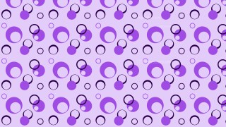 Violet Circle Background Pattern