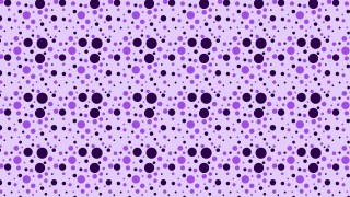 Purple Random Circles Dots Pattern Vector Image