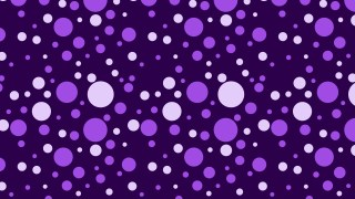 Purple Seamless Random Circle Dots Pattern Vector