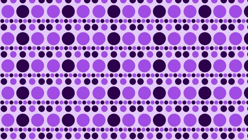Purple Geometric Circle Pattern