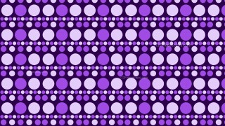 Purple Geometric Circle Pattern Background