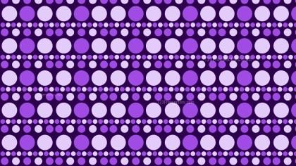 Purple Geometric Circle Pattern Background