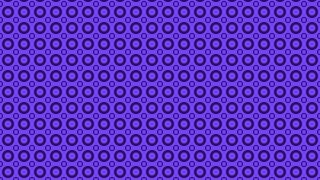 Violet Seamless Geometric Circle Pattern