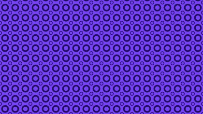 Violet Seamless Geometric Circle Pattern