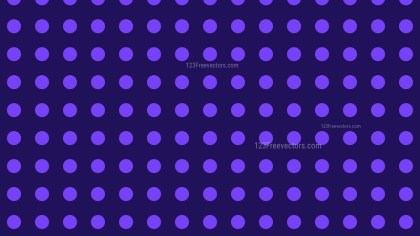 Indigo Seamless Geometric Circle Pattern Background