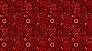 Dark Red Circle Pattern Illustrator