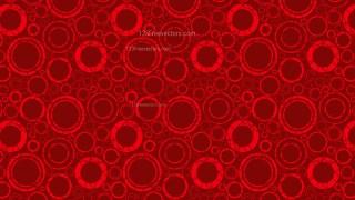 Dark Red Circle Background Pattern Vector
