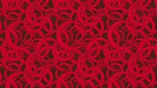 Dark Red Overlapping Circles Pattern Background