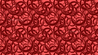 Dark Red Overlapping Circles Background Pattern