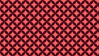 Dark Red Seamless Overlapping Circles Background Pattern Illustration