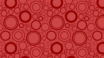 Red Circle Pattern Graphic