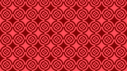 Red Seamless Quarter Circles Background Pattern Illustration