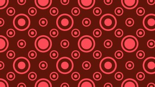 Dark Red Geometric Circle Pattern