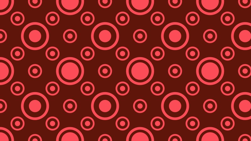 Dark Red Geometric Circle Pattern