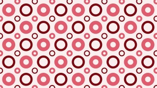 Red Geometric Circle Background Pattern