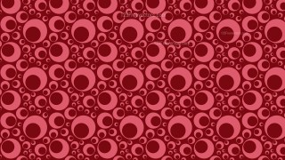 Dark Red Geometric Circle Pattern Vector Illustration