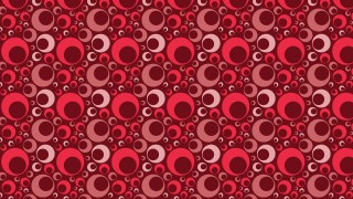 Dark Red Geometric Circle Pattern Background Vector