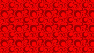 Red Geometric Circle Background Pattern Vector Art