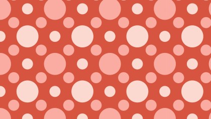 Red Geometric Circle Pattern Illustration