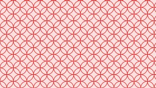 Light Red Seamless Overlapping Circles Pattern Background