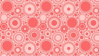 Light Red Circle Pattern