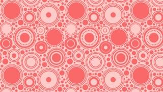 Light Red Circle Pattern