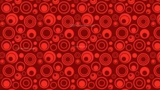 Dark Red Seamless Circle Background Pattern