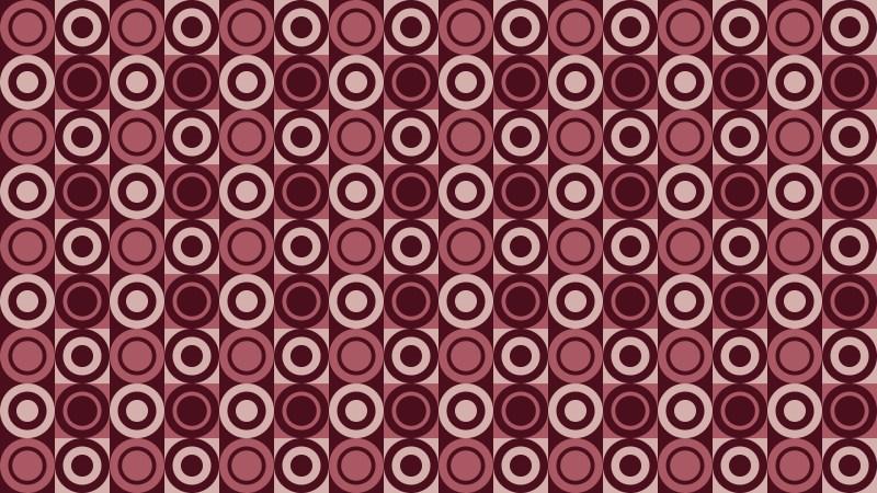 Dark Red Circle Background Pattern