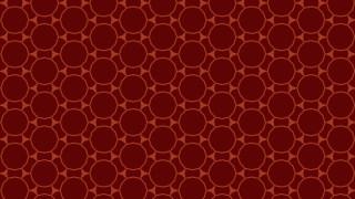 Dark Red Seamless Circle Pattern Design