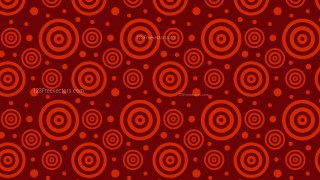 Dark Red Seamless Concentric Circles Background Pattern