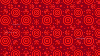 Dark Red Seamless Concentric Circles Pattern Background Illustrator