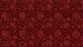 Dark Red Seamless Geometric Circle Background Pattern Vector Illustration