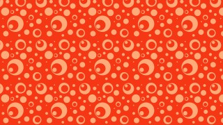 Red Circle Background Pattern Design